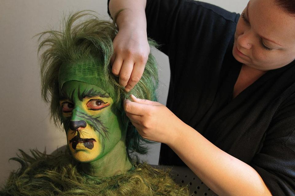 Boston Globe reporter Christopher Muther gets transformed into the Grinch.